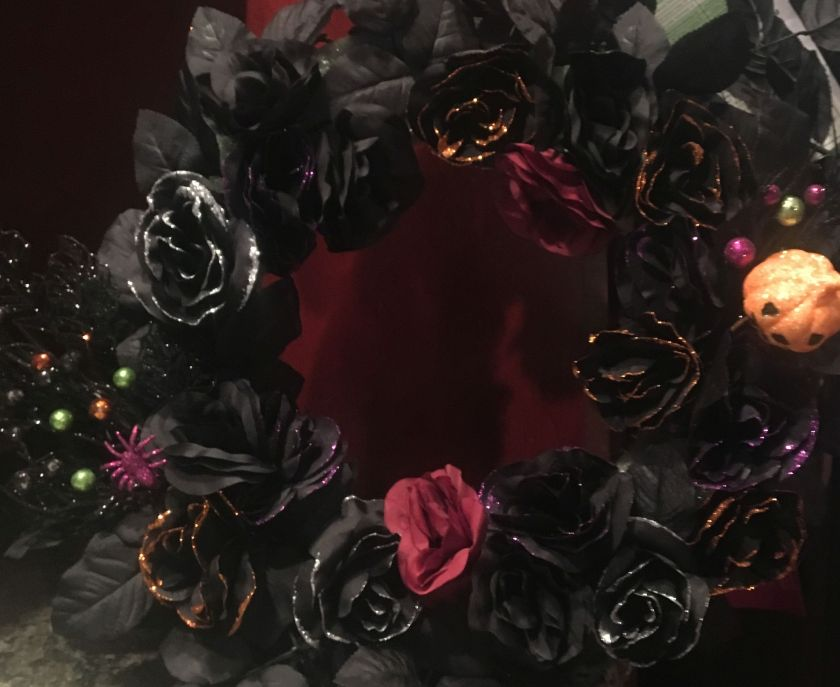 halloween floral